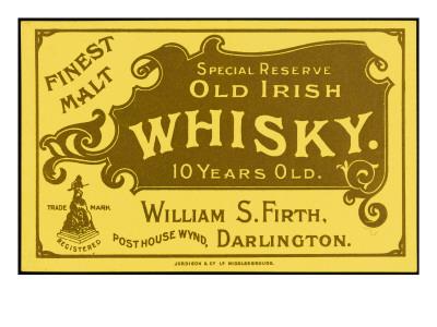 Vintage Irish Whiskey 112