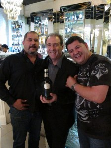Ian with the Myburgh brothers