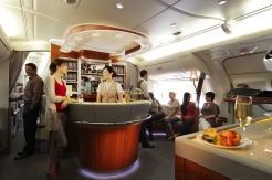 A380 First & Business Class Onboard Lounge 1